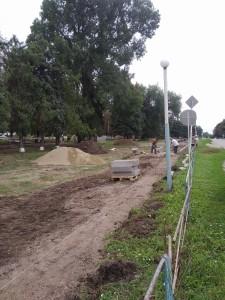 Парк, расположенный по ул. Ленина, 81 А ст. Новоплатнировской, Ленинградского района, Краснодарского края 3